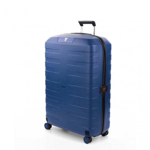 خرید و قیمت چمدان رونکاتو ایتالیا مدل باکس 4 سایز بزرگ رنگ آبی رونکاتو ایران  – roncatoiran BOX 4.0 CABIN SIZE RONCATO ITALY 55610183  1