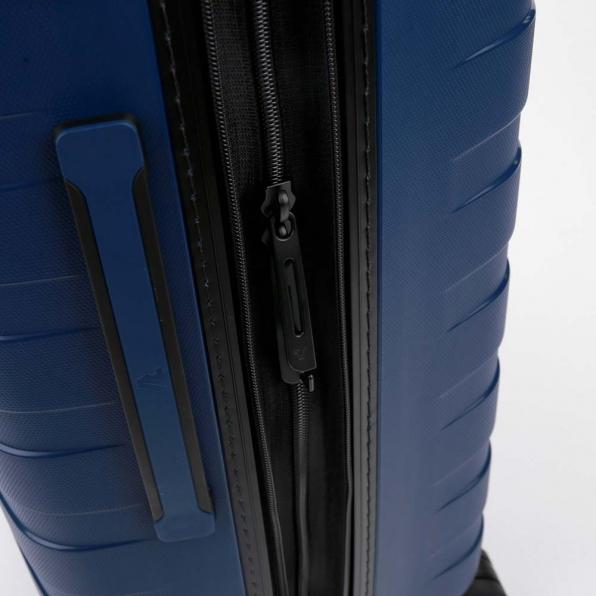 خرید و قیمت چمدان رونکاتو ایتالیا مدل باکس 4 سایز بزرگ رنگ آبی رونکاتو ایران  – roncatoiran BOX 4.0 CABIN SIZE RONCATO ITALY 55610183  5