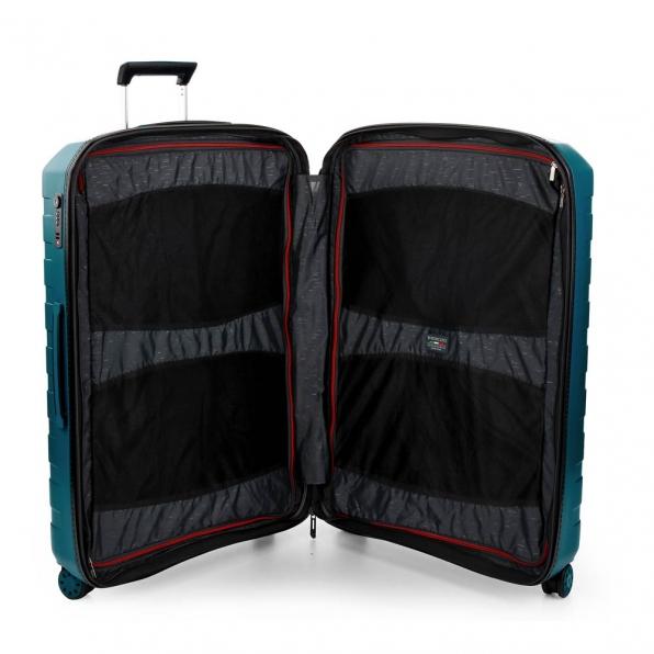 خرید و قیمت چمدان رونکاتو ایتالیا مدل باکس 4 سایز بزرگ رنگ مشکی رونکاتو ایران  – roncatoiran BOX 4.0 CABIN SIZE RONCATO ITALY 55610188 4