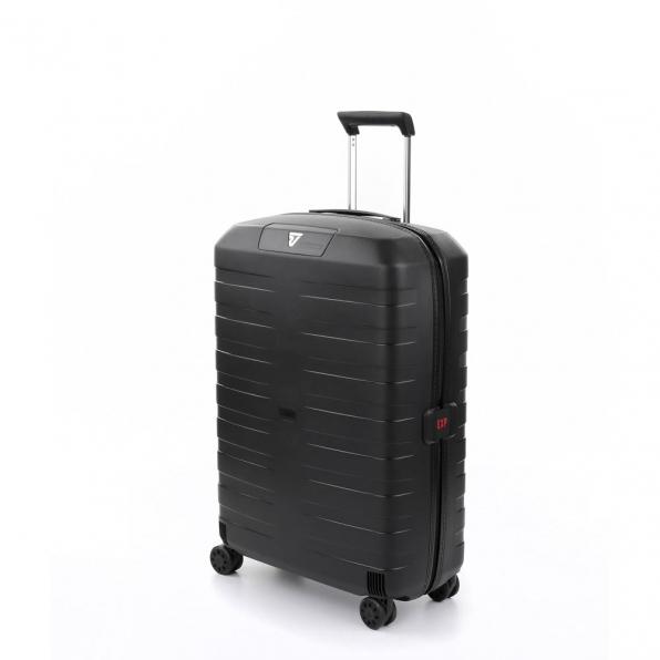 قیمت چمدان رونکاتو ایتالیا مدل باکس 4 سایز متوسط رنگ مشکی رونکاتو ایران  – roncatoiran BOX 4.0 CABIN SIZE RONCATO ITALY 55620101  1