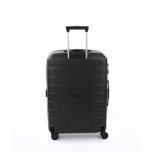 قیمت چمدان رونکاتو ایتالیا مدل باکس 4 سایز متوسط رنگ مشکی رونکاتو ایران  – roncatoiran BOX 4.0 CABIN SIZE RONCATO ITALY 55620101  3
