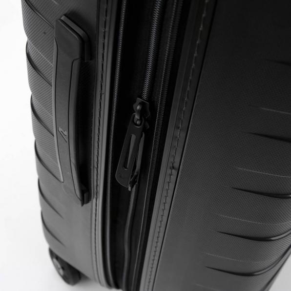 قیمت چمدان رونکاتو ایتالیا مدل باکس 4 سایز متوسط رنگ مشکی رونکاتو ایران  – roncatoiran BOX 4.0 CABIN SIZE RONCATO ITALY 55620101  5