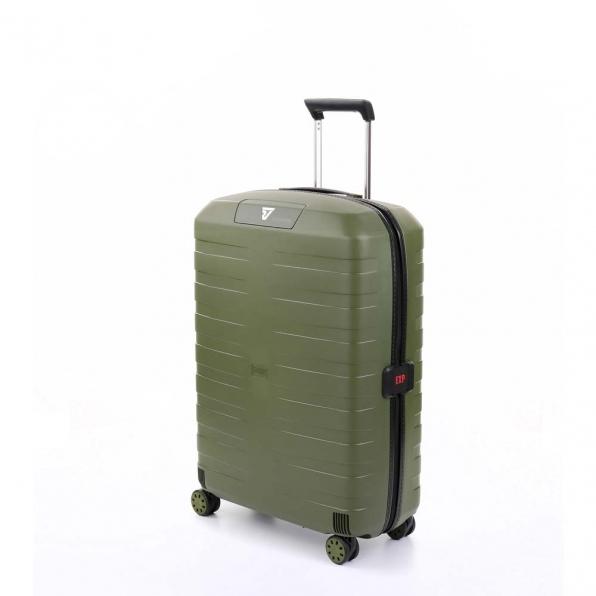 قیمت و خرید چمدان رونکاتو ایران مدل باکس 4 سایز متوسط رنگ سبز رونکاتو ایتالیا  – roncatoiran BOX 4.0 CABIN SIZE RONCATO ITALY 55620157  1