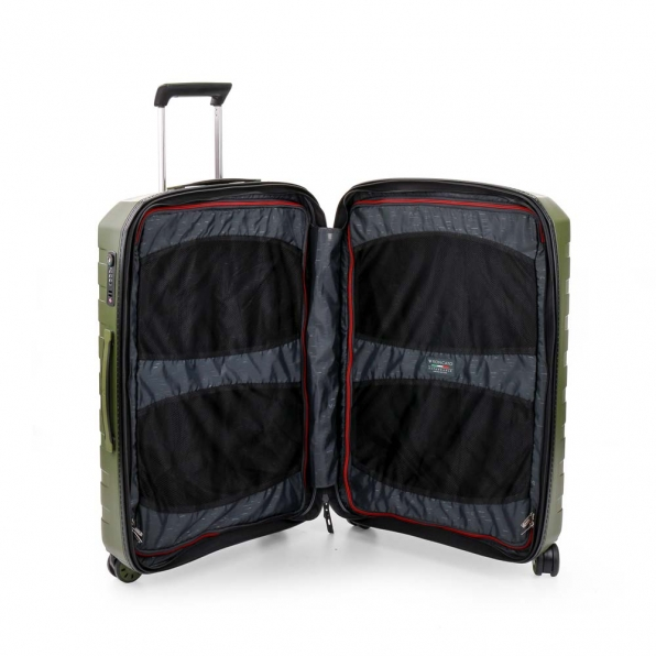 قیمت و خرید چمدان رونکاتو ایران مدل باکس 4 سایز متوسط رنگ سبز رونکاتو ایتالیا  – roncatoiran BOX 4.0 CABIN SIZE RONCATO ITALY 55620157  4