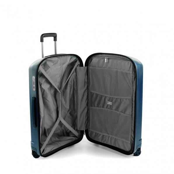 خرید و قیمت چمدان رونکاتو ایران مدل یونیکا سایز متوسط پلاس رنگ آبی ایتالیا – roncatoiran UNICA RONCATO ITALY 56020168 2