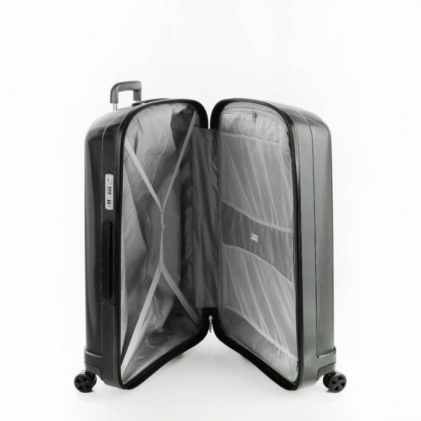 خرید و قیمت چمدان رونکاتو ایران مدل اونو اس ال سایز بزرگ رنگ مشکی ایتالیا – roncatoiran UNO SL RONCATO ITALY 56110101 2