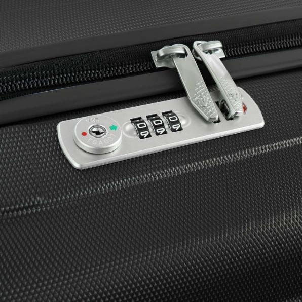 خرید و قیمت چمدان رونکاتو ایران مدل اونو اس ال سایز بزرگ رنگ مشکی ایتالیا – roncatoiran UNO SL RONCATO ITALY 56110101 4