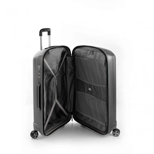 خرید و قیمت چمدان رونکاتو ایران مدل یونیکا سایز متوسط رنگ نوک مدادی ایتالیا – roncatoiran UNICA RONCATO ITALY 56120122 2