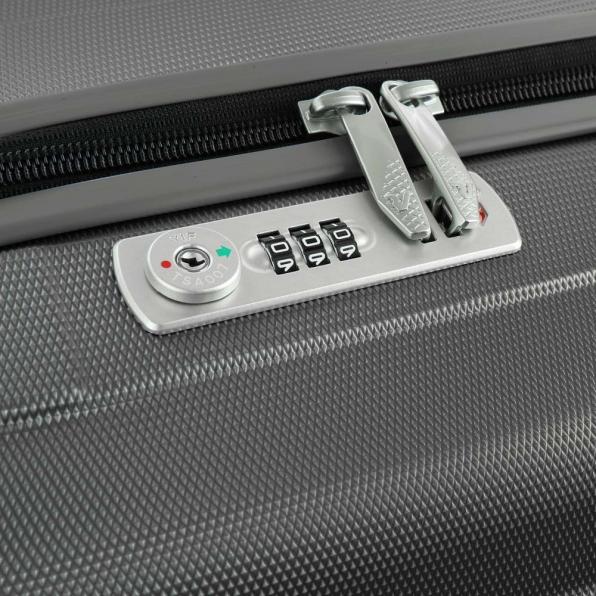 خرید و قیمت چمدان رونکاتو ایران مدل یونیکا سایز متوسط رنگ نوک مدادی ایتالیا – roncatoiran UNICA RONCATO ITALY 56120122 4