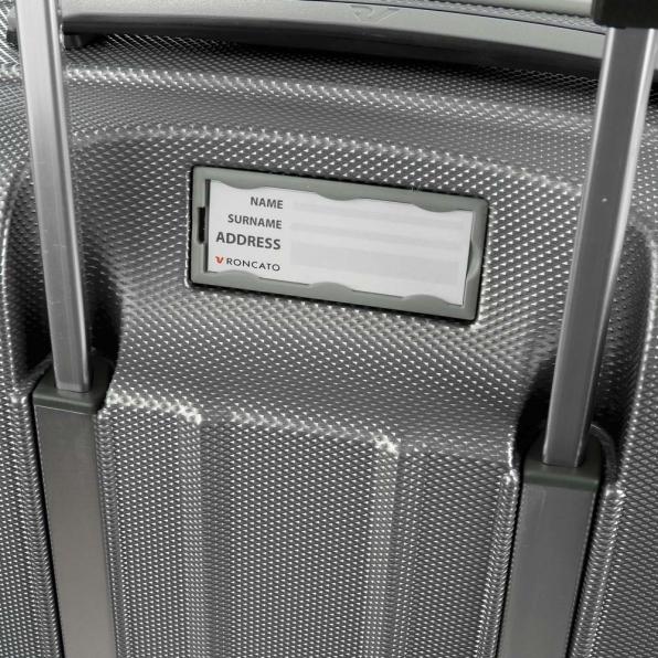 خرید و قیمت چمدان رونکاتو ایران مدل یونیکا سایز متوسط رنگ نوک مدادی ایتالیا – roncatoiran UNICA RONCATO ITALY 56120122 5