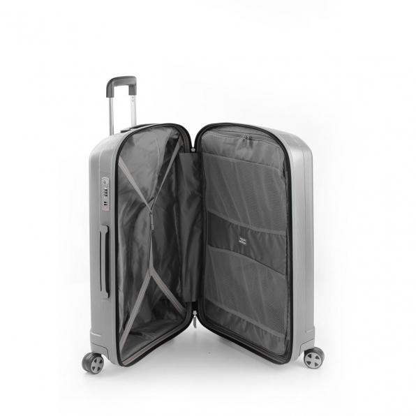 خرید و قیمت چمدان رونکاتو ایران مدل یونیکا سایز متوسط رنگ خاکستری ایتالیا – roncatoiran UNICA RONCATO ITALY 56120125 2