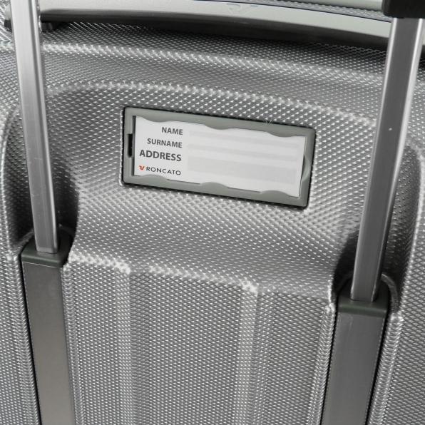 خرید و قیمت چمدان رونکاتو ایران مدل یونیکا سایز متوسط رنگ خاکستری ایتالیا – roncatoiran UNICA RONCATO ITALY 56120125 5