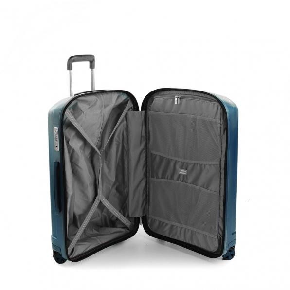 خرید و قیمت چمدان رونکاتو ایران مدل یونیکا سایز متوسط رنگ آبی ایتالیا – roncatoiran UNICA RONCATO ITALY 56120168 2