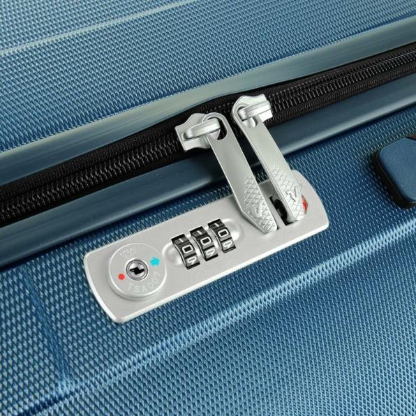 خرید و قیمت چمدان رونکاتو ایران مدل یونیکا سایز متوسط رنگ آبی ایتالیا – roncatoiran UNICA RONCATO ITALY 56120168 4