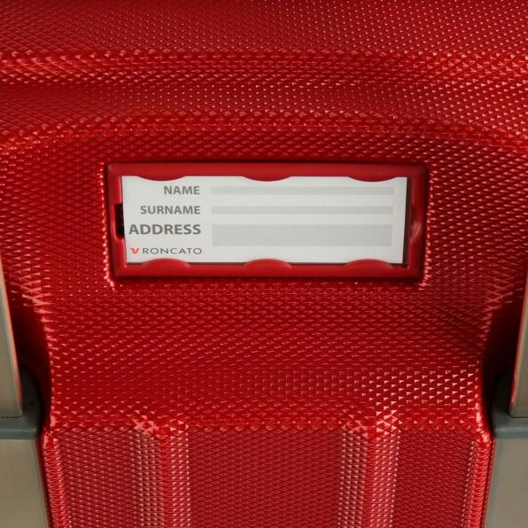 خرید و قیمت چمدان رونکاتو ایران مدل یونیکا سایز متوسط رنگ قرمز ایتالیا – roncatoiran UNICA RONCATO ITALY 56120169 4