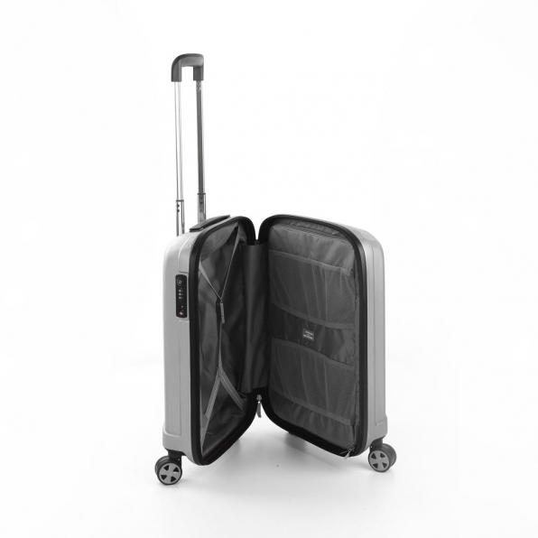 خرید و قیمت چمدان مدل یونیکا رونکاتو ایتالیا سایز کابین رنگ خاکستری ایران– roncatoiran UNICA RONCATO ITALY 56130125 2