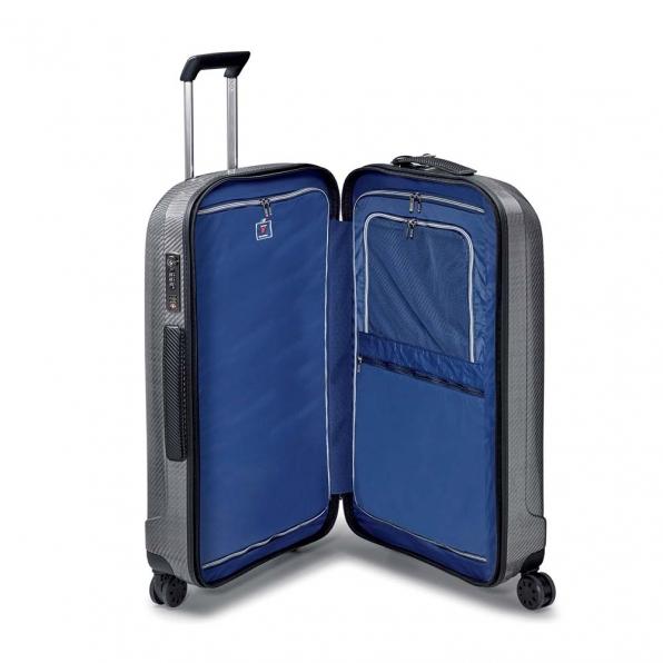 قیمت چمدان رونکاتو مدل وی گِلَم رونکاتو ایران سایز متوسط رنگ خاکستری رونکاتو ایتالیا – roncatoiran WE GLAM RONCATO ITALY 59520162  3
