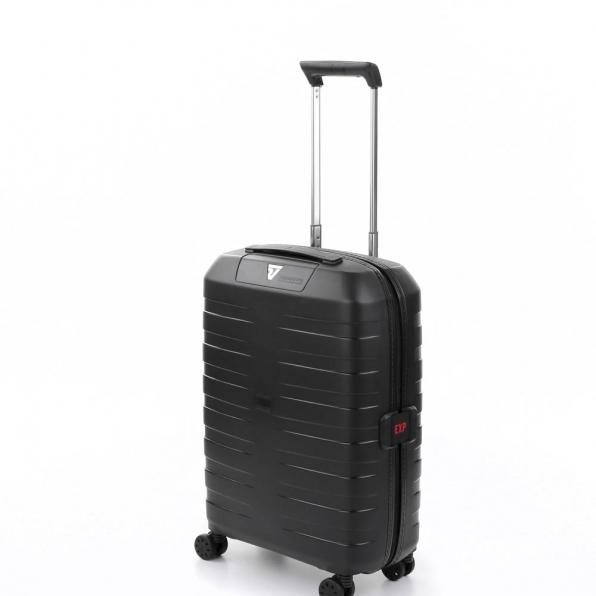 قیمت و خرید چمدان رونکاتو ایتالیا مدل باکس 4 رونکاتو ایران سایز کابین رنگ مشکی – roncatoiran BOX 4.0 CABIN SIZE RONCATO ITALY 55630101  2