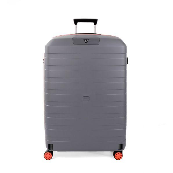 قیمت و خرید چمدان رونکاتو ایتالیا مدل باکس یانگ رونکاتو ایران رنگ خاکستری سایز بزرگ  –  BOX YOUNG RONCATO IRAN 55411220 roncatoiran