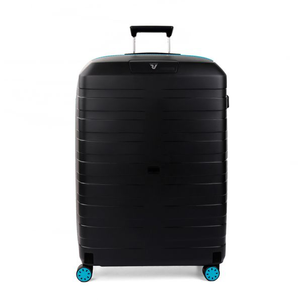قیمت و خرید چمدان رونکاتو ایتالیا مدل باکس یانگ رونکاتو ایران رنگ مشکی سایز بزرگ  –  BOX YOUNG RONCATO IRAN 55411801 roncatoiran