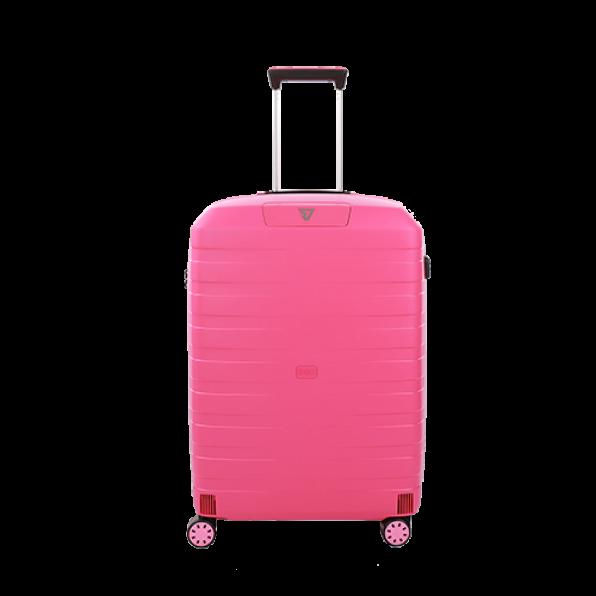 چمدان رونکاتو ایتالیا مدل باکس یانگ سایز بزرگ رنگ صورتی رونکاتو ایران –  BOX YOUNG RONCATO ITALY 55411819  roncatoiran