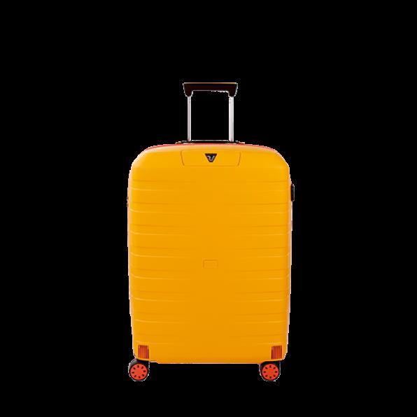 چمدان رونکاتو ایتالیا مدل باکس یانگ سایز متوسط رنگ زرد رونکاتو ایران –  BOX YOUNG MEDIUM RONCATO ITALY 55421206 roncatoiran