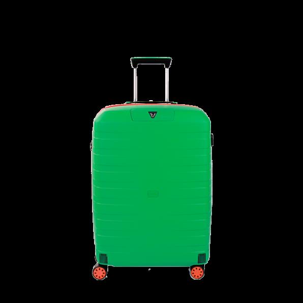 چمدان رونکاتو ایتالیا مدل باکس یانگ سایز متوسط رنگ سبز رونکاتو ایران –  BOX YOUNG MEDIUM RONCATO ITALY 55421227 roncatoiran