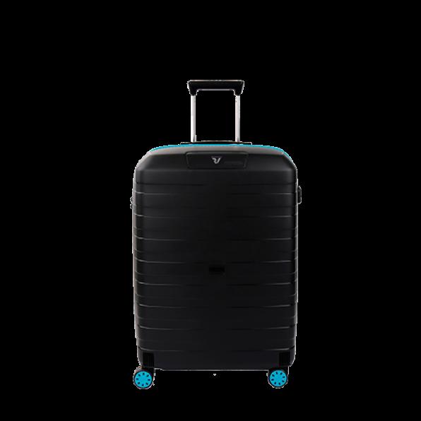 چمدان رونکاتو ایتالیا مدل باکس یانگ سایز متوسط رنگ مشکی رونکاتو ایران –  BOX YOUNG MEDIUM RONCATO ITALY 55421801 roncatoiran