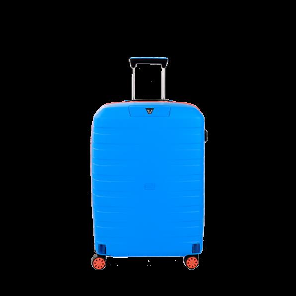 چمدان رونکاتو ایتالیا مدل باکس یانگ سایز متوسط رنگ آبی رونکاتو ایران –  BOX YOUNG MEDIUM RONCATO ITALY 55421208 roncatoiran