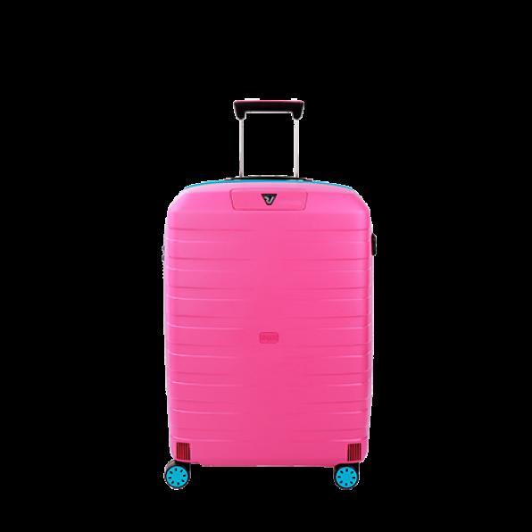 چمدان رونکاتو ایتالیا مدل باکس یانگ سایز متوسط رنگ صورتی رونکاتو ایران –  BOX YOUNG MEDIUM RONCATO ITALY 55421819 roncatoiran