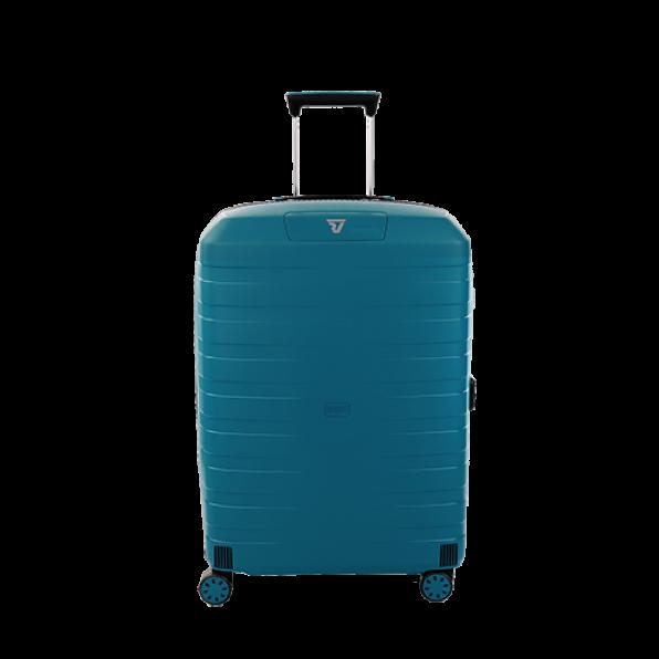 قیمت و خرید چمدان رونکاتو ایران مدل باکس 4 سایز متوسط رنگ آبی رونکاتو ایتالیا  – roncatoiran BOX 4.0 CABIN SIZE RONCATO ITALY 55620188