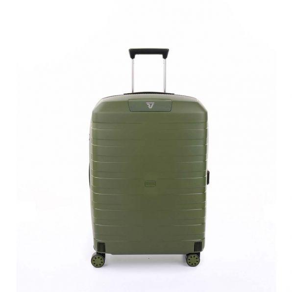 قیمت و خرید چمدان رونکاتو ایران مدل باکس 4 سایز متوسط رنگ سبز رونکاتو ایتالیا  – roncatoiran BOX 4.0 CABIN SIZE RONCATO ITALY 55620157
