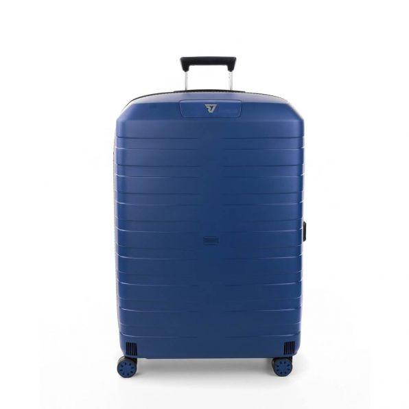 خرید چمدان رونکاتو ایتالیا مدل باکس 4 سایز بزرگ رنگ آبی رونکاتو ایران  – roncatoiran BOX 4.0 CABIN SIZE RONCATO ITALY 55610183