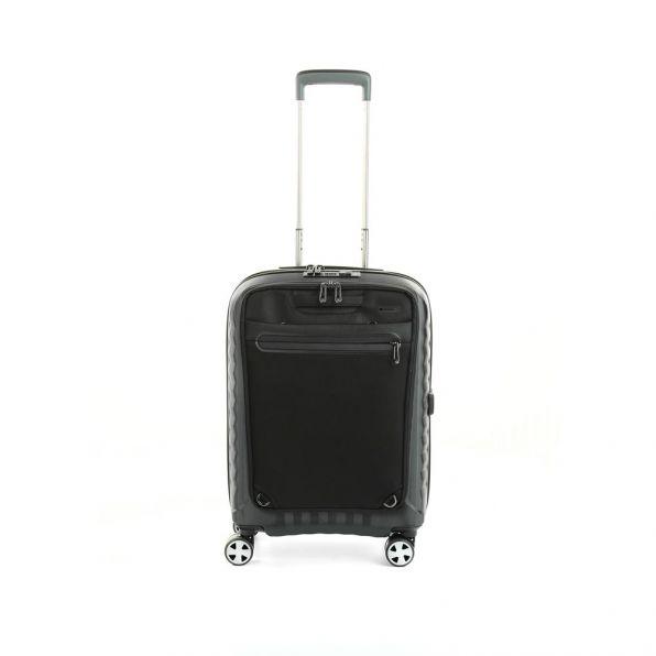 قیمت و خرید چمدان رونکاتو مدل دابل پریمیوم  رونکاتو ایران رنگ مشکی سایز کابین رونکاتو ایتالیا – roncatoiran DOUBLE PREMIUM RONCATO ITALY 51460101