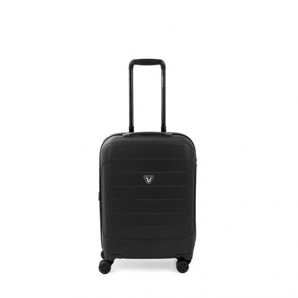 خرید چمدان رونکاتو مدل فایبر لایت رونکاتو ایران رنگ مشکی سایز کابین رونکاتو ایتالیا – roncatoiran FIBER LIGHT RONCATO ITALY 41915301
