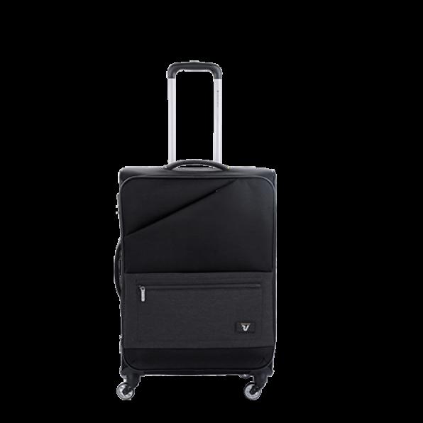 خرید و قیمت چمدان رونکاتو ایران مدل هایپر رنگ مشکی سایز متوسط رونکاتو ایتالیا – roncatoiran HYPER RONCATO ITALY 41686201
