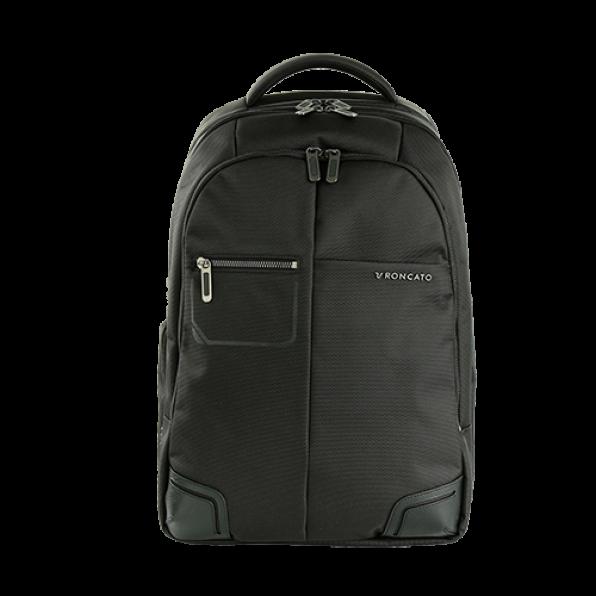 خرید و قیمت کوله پشتی لپ تاپ رونکاتو مدل وال استریت رنگ مشکی سایز 15.6 اینچ رونکاتو ایتالیا – roncatoiran WALL STREET RONCATO ITALY 41215301