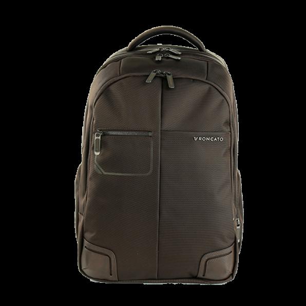 خرید و قیمت کوله پشتی لپ تاپ رونکاتو مدل وال استریت رنگ قهوه ای سایز 15.6 اینچ رونکاتو ایتالیا – roncatoiran WALL STREET RONCATO ITALY 41215344