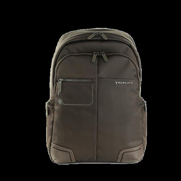 خرید و قیمت کوله پشتی لپ تاپ رونکاتو مدل وال استریت رنگ قهوه ای سایز 14 اینچ تک تبله رونکاتو ایتالیا – roncatoiran WALL STREET RONCATO ITALY 41215444