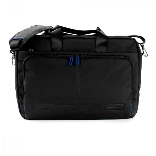 خرید و قیمت کیف دستی لپ تاپ رونکاتو مدل اُربن فیلینگ رنگ مشکی سایز 15.6 اینچ یک تبله رونکاتو ایتالیا – roncatoiran URBAN FEELING RONCATO ITALY 41233001