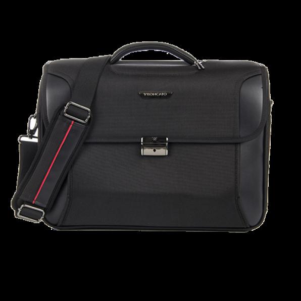 خرید و قیمت کیف دستی لپ تاپ رونکاتو مدل بیز 2 رنگ مشکی 15.6 اینچ  و سه تبله رونکاتو ایتالیا – roncatoiran BIZ 2.0 RONCATO ITALY 41212201